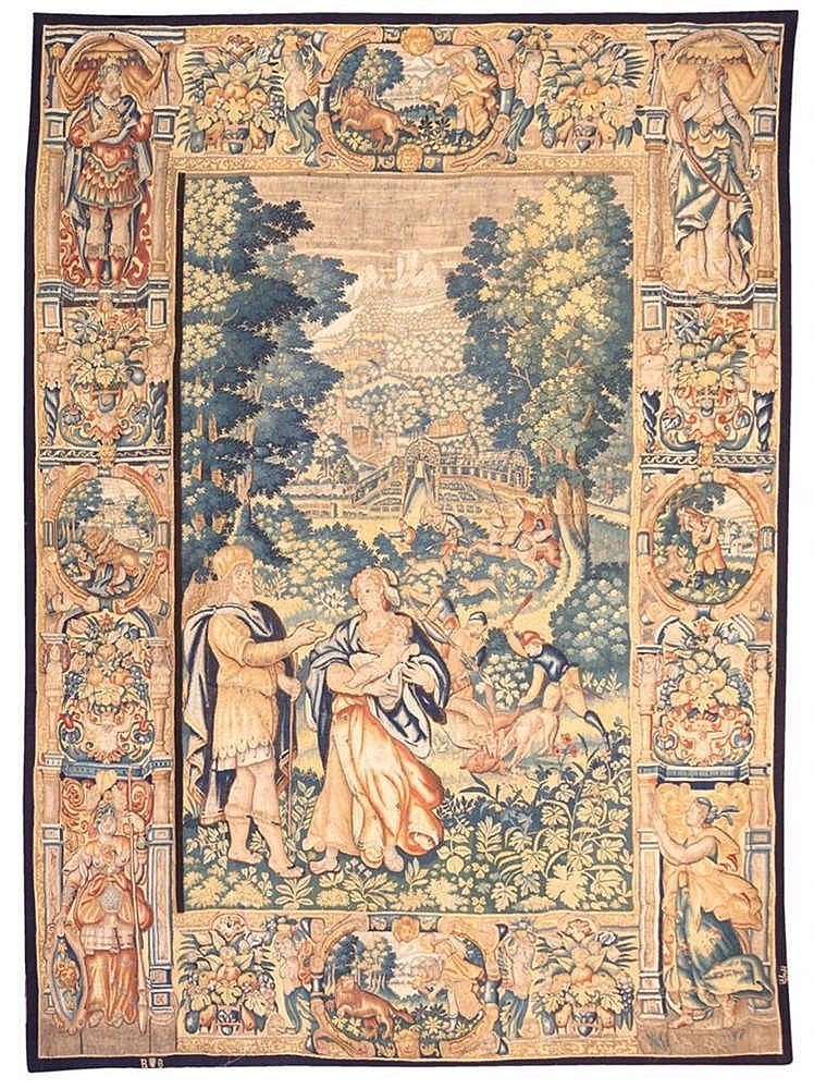 A TAPESTRY, 17TH CENTURY