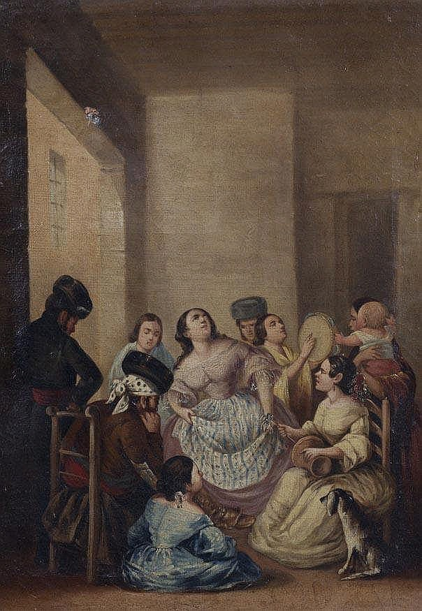 SPANISH SCHOOL, 19TH CENTURY