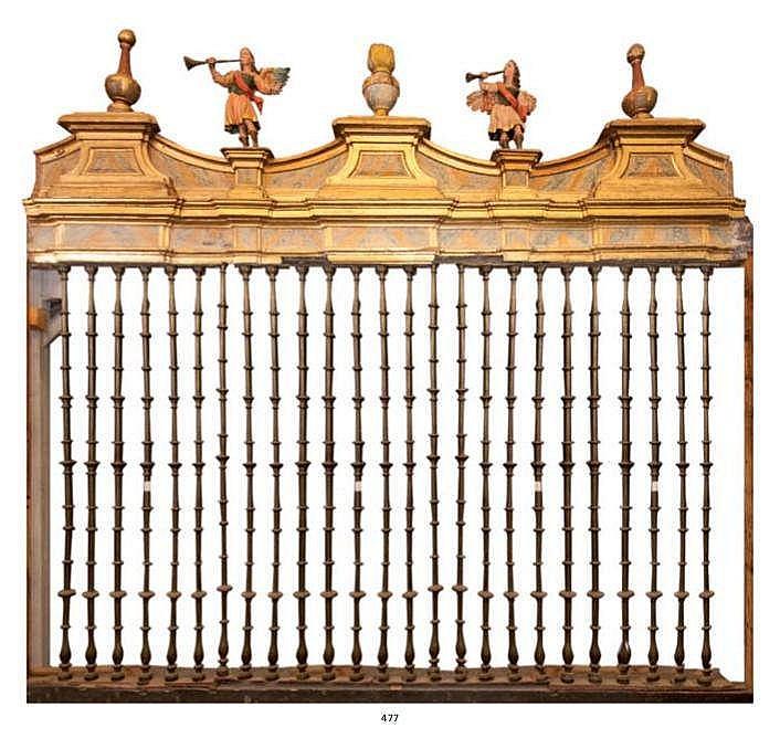 A SPANISH IRON GATE, 17TH CENTURY