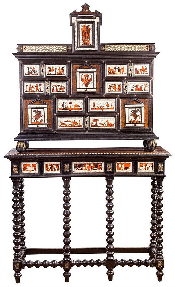 A SPANISH CABINET, 20TH CENTURY