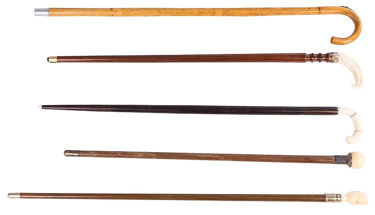 A CANE, 20TH CENTURY