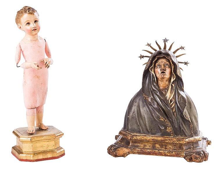 A CHILD JESUS FIGURE