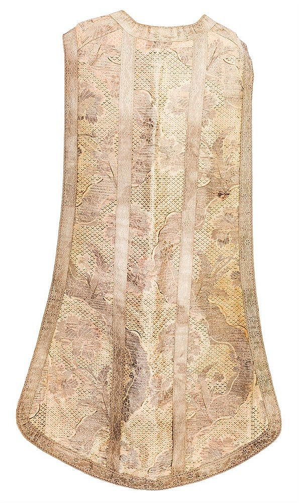 A silk Chasuble, 19TH CENTURY