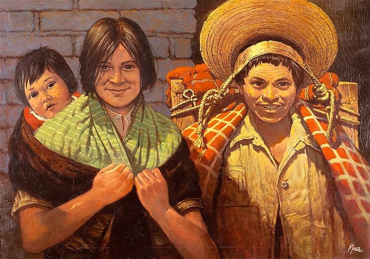 RICARDO MOYA - FAMILIA OTOMI