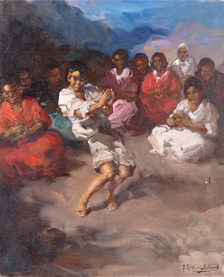 FRANCISCO RODRÍGUEZ SAN CLEMENTE - GYPSY PARTY