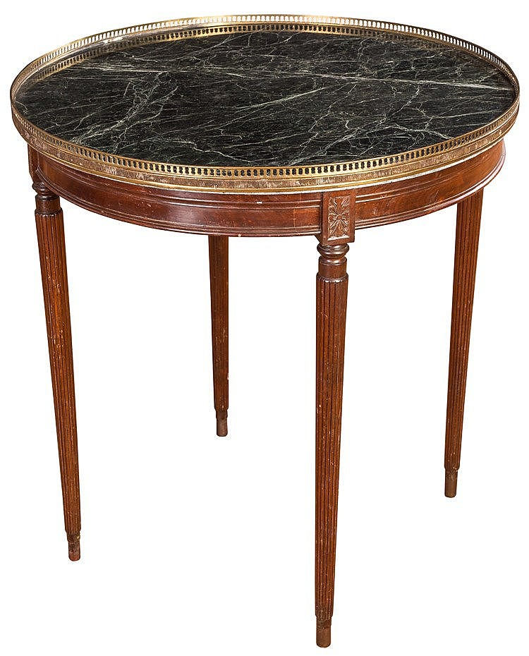 A COFFEE TABLE, MID 20TH CENTURY