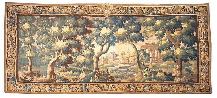 A VERDURE TAPESTRY, FRANCE, 18TH CENTURY