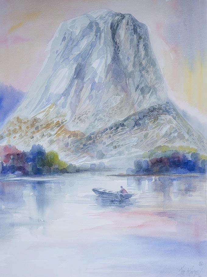 JOSE MARQUEZ ALCALÁ - MOUNTAIN LANDSCAPE IV