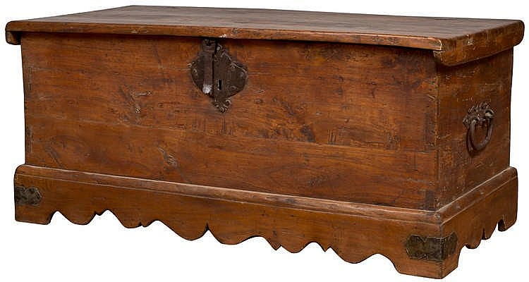 A CHEST, 19TH CENTURY