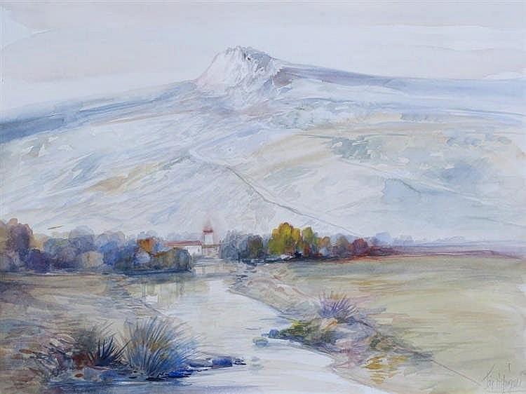 JOSE MARQUEZ ALCALÁ - MOUNTAIN LANDSCAPE III
