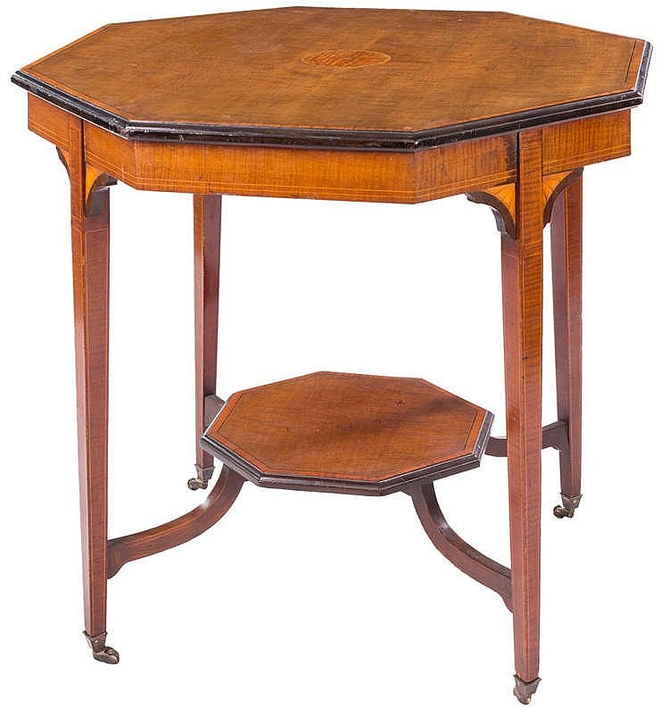 AN ENGLISH PEDESTAL TABLE, LATE 20TH CENTURY