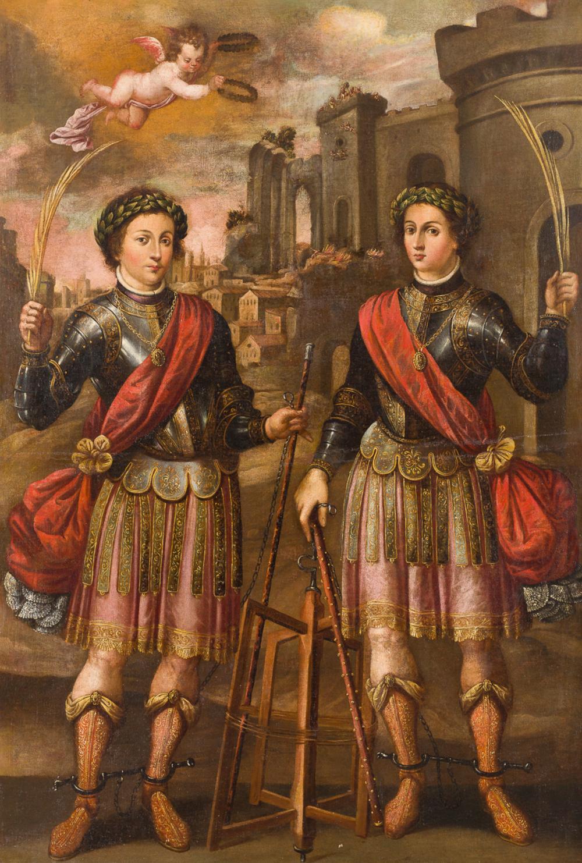San Servando y San Germán, Patronos de Cádiz