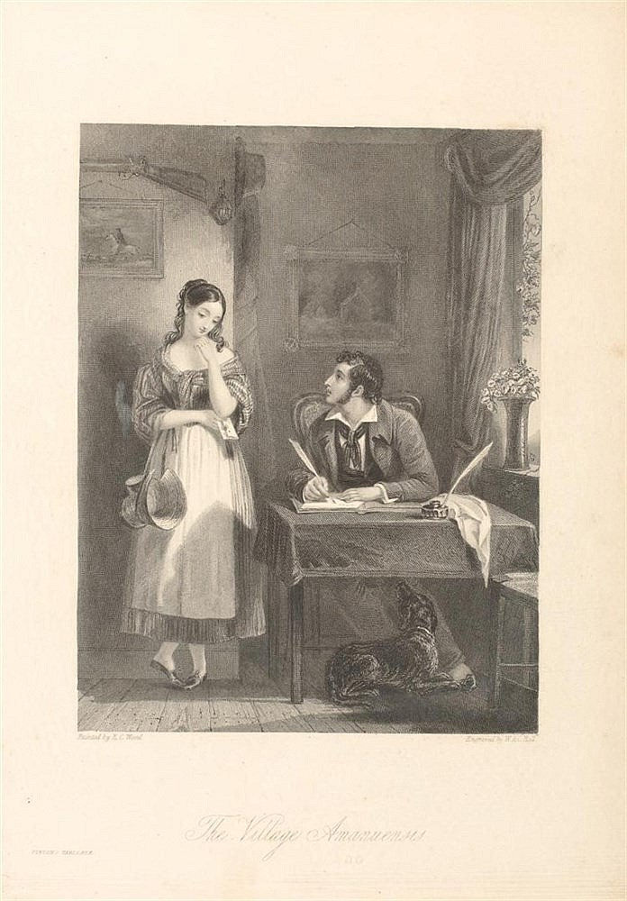 ENGLISH SCHOOL. William Holl, the Younger (British, Plaistow 1807–1871 London). A set of ten engravings from