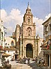 MANUEL FERNÁNDEZ (Carmona, Jerez de la Frontera, 1927), Iglesia de San Miguel - MANUEL FERNÁNDEZ   1927 Carmona -  Iglesia de San Miguel, Jerez de la Frontera, Manuel (1927) Fernandez, Click for value