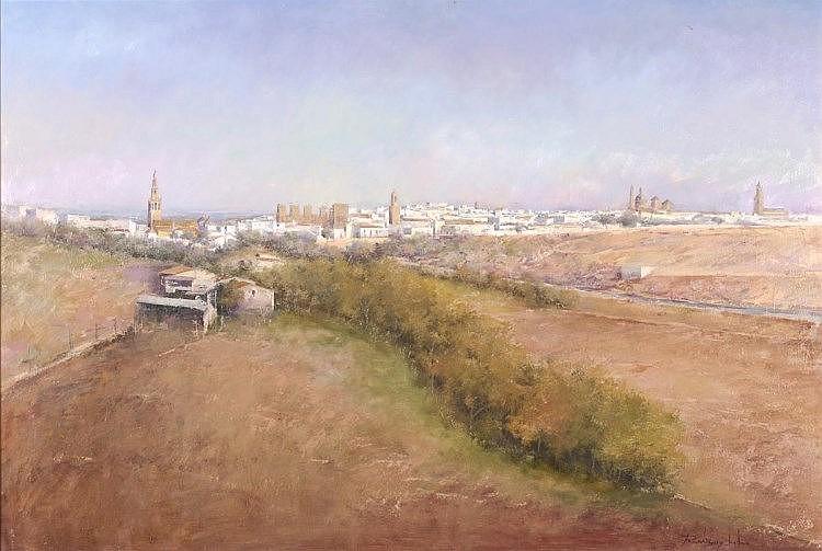 FRANCISCO RODRÍGUEZ LOBO (Cantillana, Seville, 1965), Carmona - FRANCISCO RODRÍGUEZ LOBO 1965 Cantillana, Sevilla -  Carmona