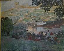 FRANCISCO HOHENLEITER DE CASTRO 1899 Cádiz - 1968Sevilla Romería