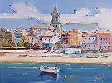JOAN SARQUELLA, Palamós. Oil on canvas