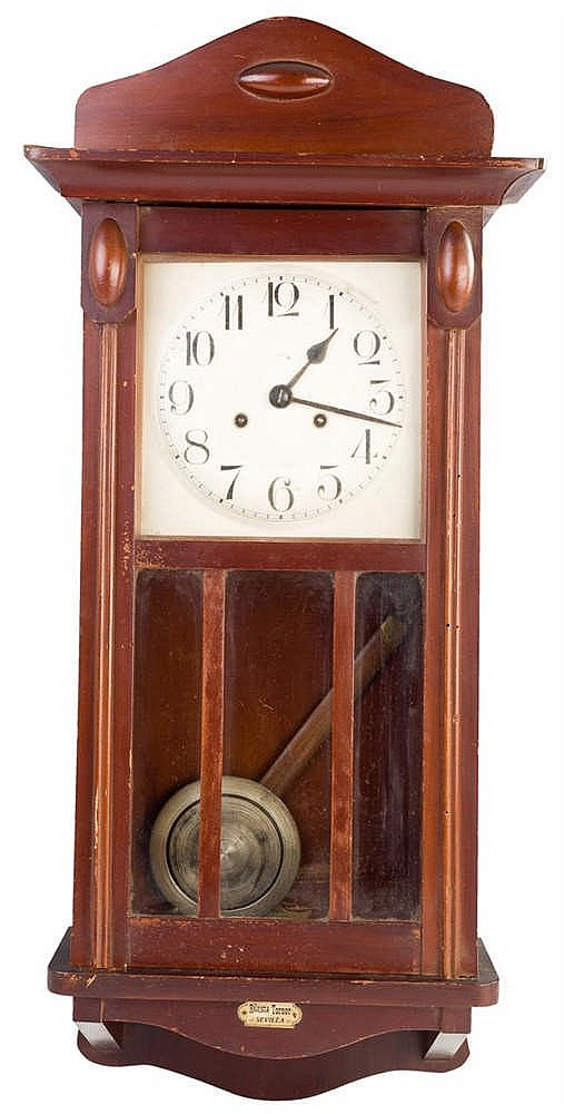 A Vintage Spanish Wall Clock