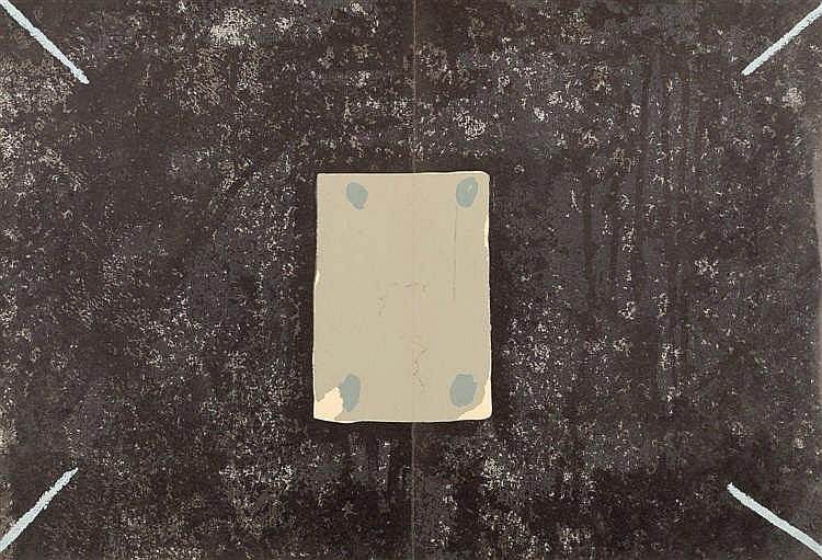 Antoni t pies derrier le miroir lithograph for Derrier le miroir