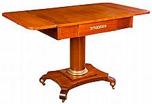 A REGENCY STYLE SOFA TABLE