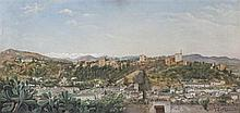 TOMÁS ACEVES, Granada. Oil on canvas