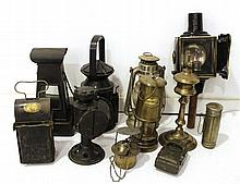 Lot of torches and lanterns