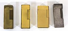 Lot of four lighters by Dunhill