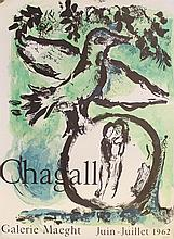 Lithographic poster, Chagall