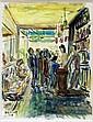 Unidentified artist (DuponR?), 1968, a French bistro