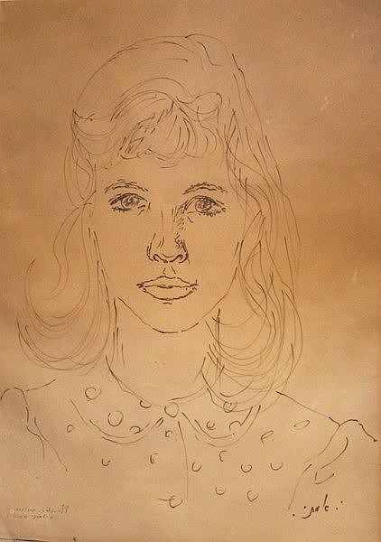 Isaac Amitay (Israeli), a young woman, 1959