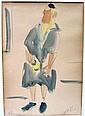 Shimshon Holzman watercolor