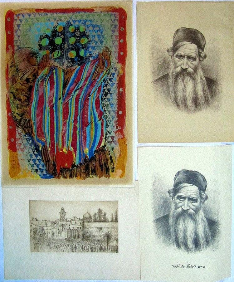 Lot of 4 prints