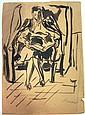 Yitzhak Frenel Drawing