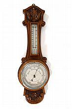 English Barometer-thermometer