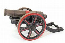 Model of an antique cannon