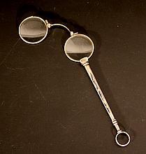 Set of folding eye glasses (Lornette)