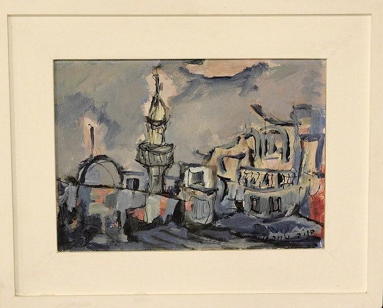 Henia Teichman, Safed