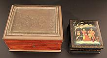 Lot of two old boxes