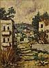 Yehuda Rodan, houses in a village, Jehuda Rodan, Click for value