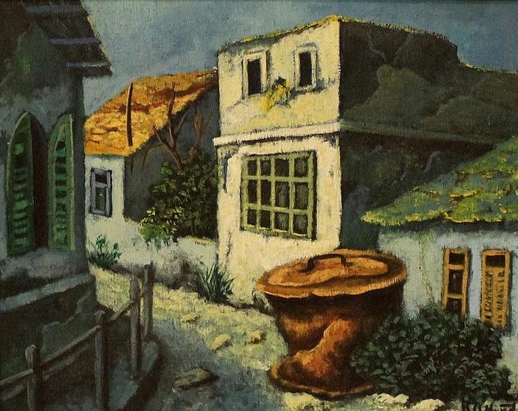 Ze'ev Kun, landscape