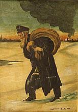 Unidentified artist, the Wandering Jew