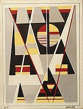 Jacob Wexler (Israeli, 1912-1995), geometrical forms