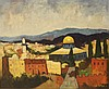 Adolph (Ed) Adler (Israeli, Romanian, 1917-1996), Jerusalem, Ed Adler, Click for value