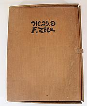Fiszel Zylberberg-Zber (1909-1943), portfolio of 39 woodcuts