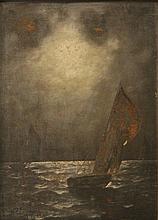Unidentified artist (Russian school), boats