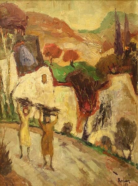 Yehuda Rodan (1916-), Arab women in the Galilee
