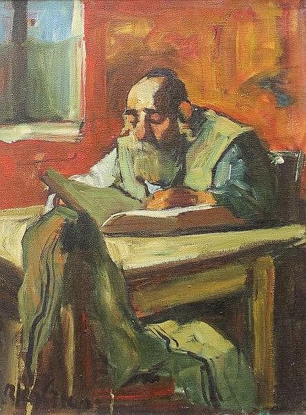 Adolph (Ed) Adler (Israeli, Romanian, 1917-1996), a Jewish man