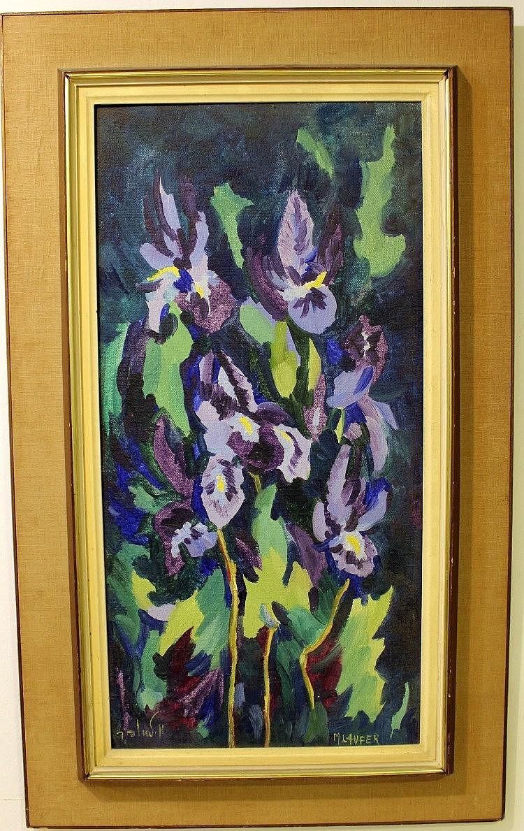 Milia Laufer (Israel, 1923-), flowers