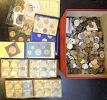 Lot of worldwide coins
