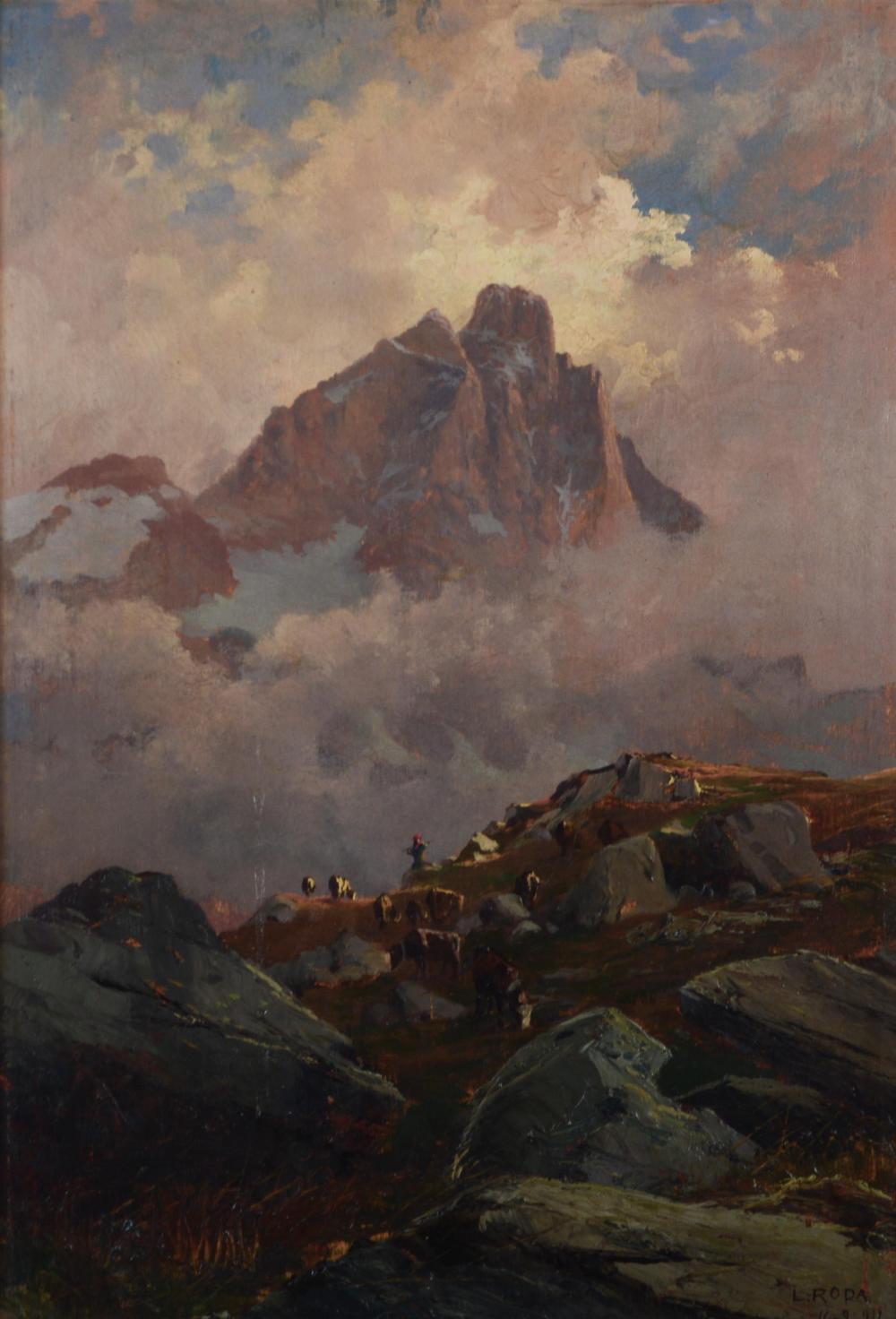 PASCOLO IN ALTA MONTAGNA